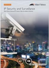 Guia de Produtos - Allied Telesis - Segurança IP e Monitoramento