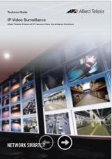 Guia de Produtos - Allied Telesis - IP Video Segurança