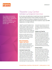 Cyber Security - Tripwire - Log Center